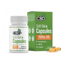 CBDfx Gel Capsules CBD & MCT